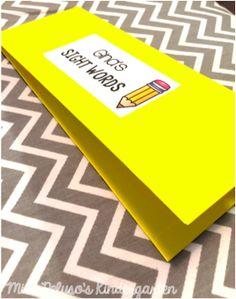 Miss Peluso's Kindergarten: DIY Pocket Folders