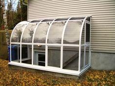 Solarium de Paris, 3 seasons Sunroom, Gazebo, Shelter, Railing and Fence - Quality Polymer.