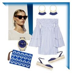 """""""Blue"""" by rita-singer on Polyvore featuring Hera, Rolex, Caroline Constas and Paul Andrew"""