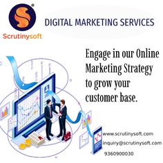 Digital Marketing expose you to a wider audience and helps you stay ahead of your competitors in a more efficient way. Email us: inquiry@scrutinysoft.com #DigitalMarketing #DigitalMarketingServiceProvidersInChennai #DigitalMarketingServiceProvidersInIndia #SocialMediaMarketing #OnlineMarketing #DigitalMarketingCompany #DigitalMarketingServices #DigitalMarketingConsultant #PPCServices #PaidAdvertising #digitalmarketingserviceprovidersinkelambakkam #DigitalMarketingServicesinKelambakkam Online Marketing Strategies, Digital Marketing Services, Social Media Marketing