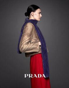 Prada Pre-Fall 2014 Ad Campaign.