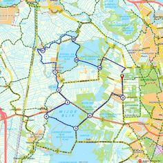 's-Graveland (Noord-Holland, Nederland) Travel Maps, Utrecht, Cool Places To Visit, Netherlands, Holland, Hiking, Camping, Bike, Explore