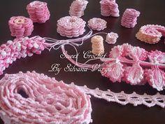 "Crochet y Bebê: CARDIGAN ""SECRET GARDEN"" em crochet irlandês. Fotos do processo."
