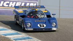 The famous Sunoco Penske Ferrari 512M, here driven by its Canadian owner…