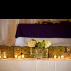 Wedding Head Table Mr and Mrs