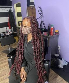 Feed In Braids Hairstyles, Braids Hairstyles Pictures, Faux Locs Hairstyles, Black Girl Braids, Braided Hairstyles For Black Women, Baddie Hairstyles, Braids For Black Hair, Hair Ponytail Styles, Curly Hair Styles