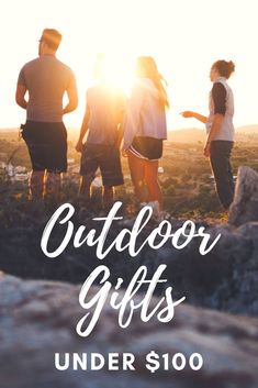 These gifts are under $100 and are perfect for the outdoor men and women in your life. With gifts for hiking, camping, traveling, and adventuring, you'll find the perfect gift in this outdoor lover's gift guide. #wishlist  #under100 #gifts #outdoorgifts