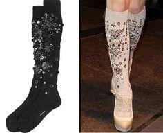 Thanks Miu Miu. Socks Are Now Glamorous…A Follow Up On My Last Blog.