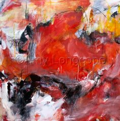 "Contemporary Painting - ""Fusion"" (Original Art from Amy Longcope)"