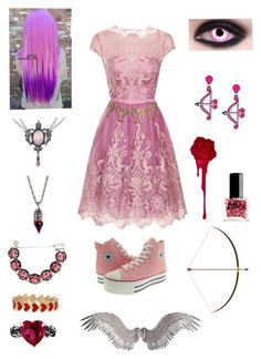 """Random Creepypasta Character #29"" by ender1027 ❤ liked on Polyvore featuring Chi Chi, Moschino, Yazbukey, Color Me, Alison Lou, Metal Couture and ncLA"