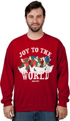 Gremlins Christmas Carols Ugly Sweatshirt – 80sTees.com, Inc.