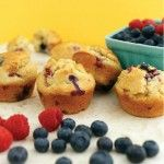 Gluten free low carb MIXED BERRY MUFFINS 3 carbs each. Probably can lower that by lessening amount of berries.