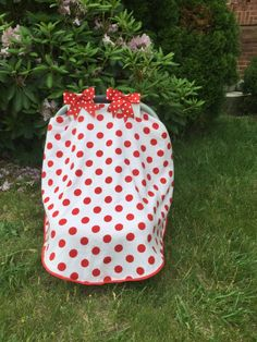 Car seat canopy car seat canopy polka dot car seat by BeingBaby