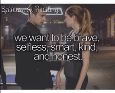 Credit to becauseofreading (Instagram) ~Divergent~ ~Insurgent~ ~Allegiant~