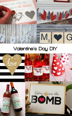 Valentine's Day DIY and printables