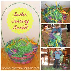 #Easter #Sensory Basket for kids