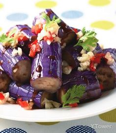 eggplant salad | Taiwanese Food  #recipe in Chinese