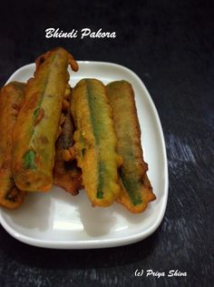 Bhindi Pakora - okra fritters