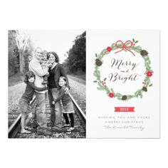 """Customized Holiday photo cards 2013 