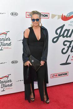 Sharon Stone Photos, Evan Ross, Red Studio, Elton John Aids Foundation, Ashlee Simpson, Stone Pictures, Steven Tyler, Ashley Tisdale, Ageless Beauty