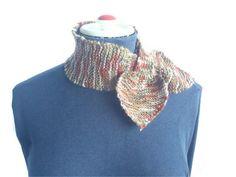 Womens Short Bow Tie ScarfOliveMustard Biege by TheSmileEmporium. $20.00 AUD, via Etsy.
