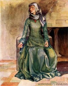 ÆLFGIFU OF YORK (c.970-1002) was the first QUEEN CONSORT of KING ÆTHELRED II from the 980's until 1002. She bore him many children, including EDMUND IRONSIDE. HOUSE OF WESSEX.