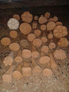 Razítka z keramiky
