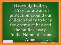 Pray to protect our children