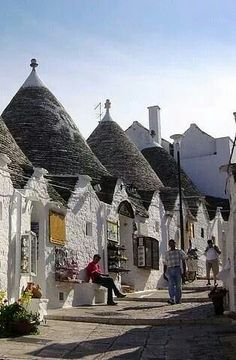 Alberobello. Bari district. Via Italy art & architecture on facebook