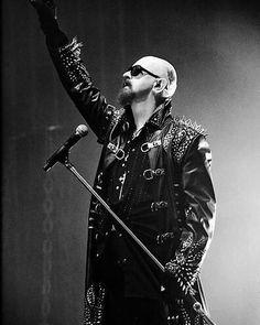 Rob Halford of Judas Priest . . . . #robhalford #judaspriest #metalhead #metal #metalmusic #heavymetal #legend #legendary #band #vocalist #godfather #80s #90s #birmingham #british #britishheavymetal #greatestmetalband