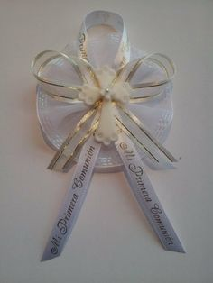 First communion Spanish guest corsage set by FancyLittleFavors, $20.00