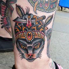 swami cat by Jaysin Burgess.