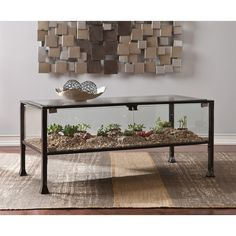 Found it at Wayfair - Terrarium Coffee Table