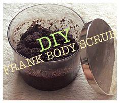 DIY Frank coconut scrub