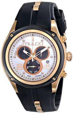 Mulco MW1-29902-021 - Reloj unisex, correa de goma color negro
