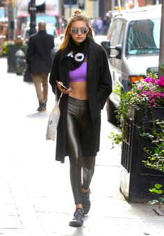 5 Times Gigi Hadid Won the Athleisure Game : Teen Vogue waysify Athleisure Outfits, Sporty Outfits, Fashion Outfits, Fashion Fashion, Fashion Ideas, Vintage Fashion, Fashion Trends, Gigi Hadid Outfits, Gigi Hadid Style