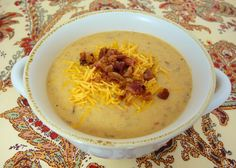 {Slow Cooker} Bacon Cheeseburger Soup | Plain Chicken