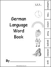 German Language Activities at EnchantedLearning.com