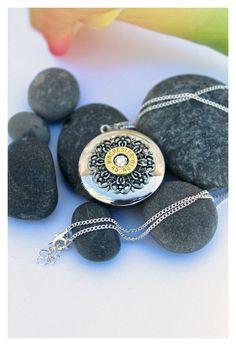 Bullet Jewelry 45 Auto Bullet Casing Locket by FieldersDream