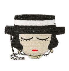 Coco Chanel Beaded Handbag