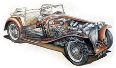 British Car, British Sports Cars, Mg Midget, Mg Cars, Automotive Art, Truck Camper, Small Cars, Collector Cars, Car Car