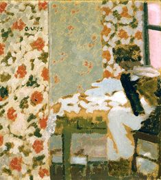 Edouard Vuillard. At the Indianapolis Museum of Art.