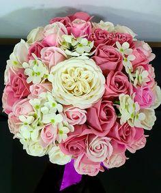 Buchet cu flori de săpun Floral Wreath, Wreaths, Rose, Plants, Floral Crown, Pink, Door Wreaths, Deco Mesh Wreaths, Plant