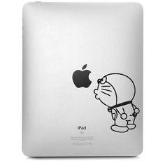 Doraemon Cartoon For iPad Vinyl Decal