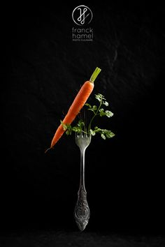Fourchette & carotte–fork & carrot