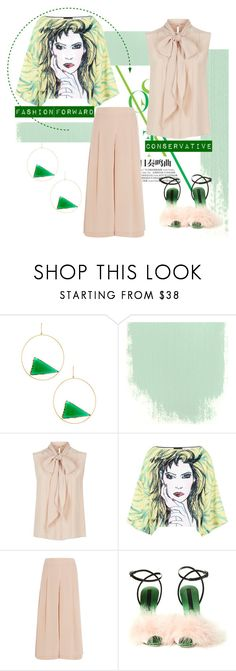 """""""How to wear pastels"""" by obsessedaboutstyle ❤ liked on Polyvore featuring Lana, MaxMara, Boutique Moschino, TIBI and Marco de Vincenzo"""