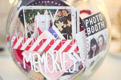 Memory Jar: http://melinasouza.com/2015/01/17/d-i-y-memory-jar/  #memoryjar #memories #lembranças #diy