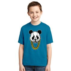 Panda Desiigner Youth T-shirt