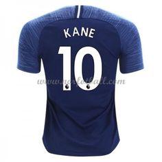 Billige Fotballdrakter Tottenham Hotspurs 2018-19 Harry Kane 10 Bortedrakt Kortermet Harry Kane, Tottenham Hotspur, Premier League, Tops, Fashion, Moda, Fashion Styles, Fasion