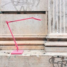 Lamps and Lighting – Home Decor :     10 Lighting Fixtures Tinged With Pink | Kelvin task lamp in painted aluminum by Flos. #design #interiordesign #interiordesignmagazine #lighting    -Read More –   - #Lighting https://decorobject.com/decorative-objects/lighting/lamps-and-lighting-home-decor-10-lighting-fixtures-tinged-with-pink-kelvin-task-lamp-in-painted-aluminum-by/